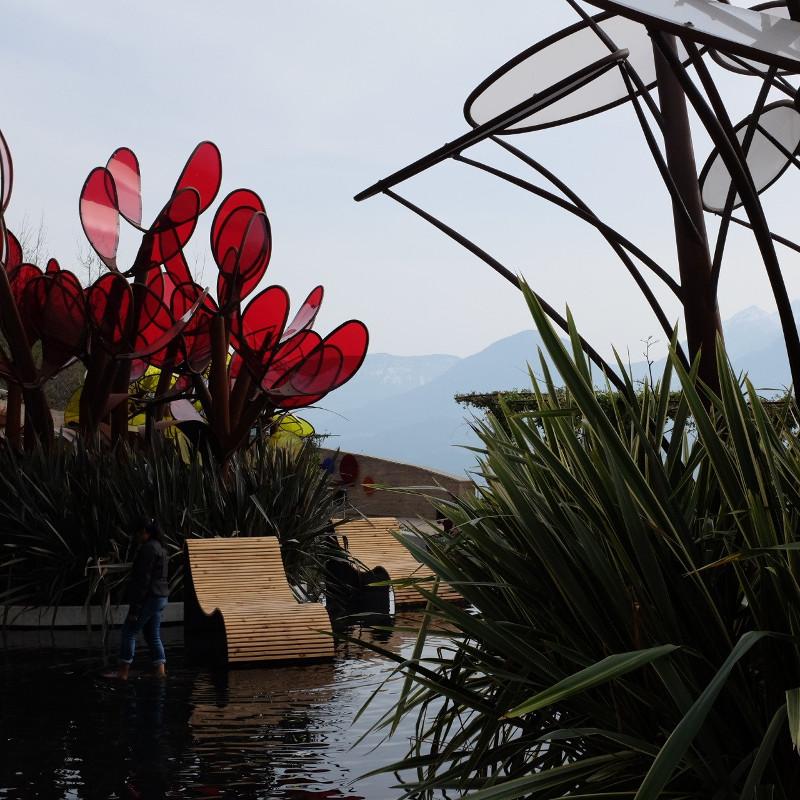 Garten der Verliebten in Meran