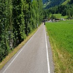 Radweg Passeiertal - Sissi Park Meran