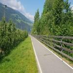 Radweg Vinschgau - Göflan - Naturns - 7