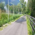 Radweg Vinschgau - Mals - Prad - 8