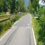 Radweg Vinschgau - Mals - Prad - 9