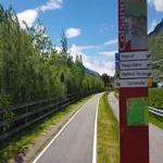 Radweg Galsaun im Vinschgau