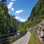 Radweg zwischen Latsch und Kastelbell - Tieftal