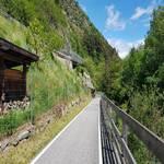 Radweg von Latsch in Richtung Kastelbell
