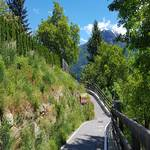 Radweg in Latsch