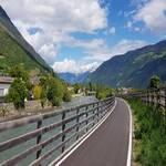 Radweg von Staben nach Naturns