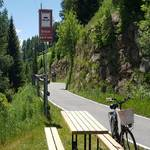Radweg Vinschgau am Reschensee 1